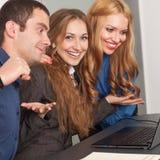 Szczęśliwa biznes drużyna Zdjęcie Royalty Free