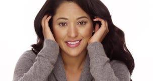 Szczęśliwa Meksykańska kobieta Obrazy Stock