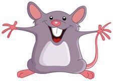 szczęśliwa mysz Zdjęcia Royalty Free