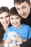 Szczęśliwa rodzina Obraz Royalty Free