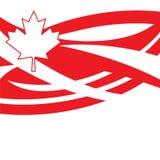 szczęśliwy Canada dzień Zdjęcia Royalty Free