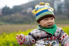 szczęśliwy dziecko śnieg Obraz Stock