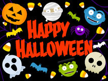 Szczęśliwy Halloween Fotografia Stock