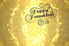 Szczęśliwy Hanukkah Fotografia Royalty Free