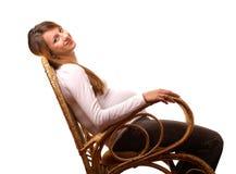 szczęśliwy kobieta w ciąży Obrazy Stock