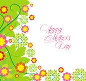 Szczęśliwy Mothers dzień kwitnie tło Fotografia Stock