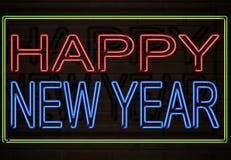 szczęśliwy nowy rok Obrazy Royalty Free