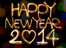 Szczęśliwy nowy rok Zdjęcia Royalty Free