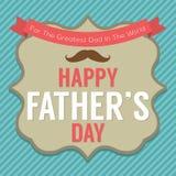 Szczęśliwy ojca dzień Zdjęcie Royalty Free
