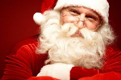 Szczęśliwy Santa Zdjęcia Stock