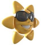 szczęśliwy słońce Fotografia Royalty Free