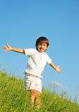 Szczęśliwy unforgetable dzieciństwo Obraz Royalty Free