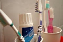 szczoteczki do zębów Zdjęcia Royalty Free