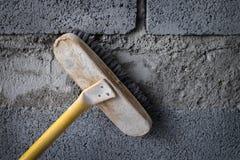 Szczotkarscy budynek budowy narzędzia Zdjęcie Stock