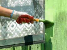 szczotkarska żeńska ręka Fotografia Stock