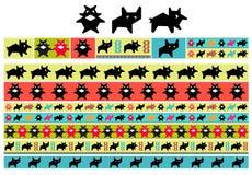 szczotkarski dekoracyjny wzór Zdjęcie Royalty Free