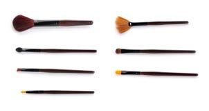 szczotkarski makeup Obrazy Stock