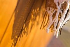 Szczotkarski szalik Fotografia Royalty Free