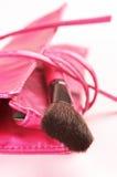 szczotkarski torba kosmetyk Zdjęcie Royalty Free