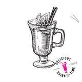 szczotkarski węgiel drzewny rysunek rysujący ręki ilustracyjny ilustrator jak spojrzenie robi pastelowi tradycyjny Zdjęcia Stock