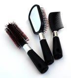 szczotkarski włosy Zdjęcia Royalty Free