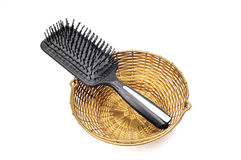 szczotkarski włosy Zdjęcie Royalty Free