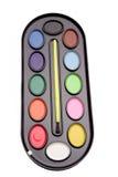 szczotkarskie farby Obrazy Stock