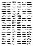 szczotkarskie linie ilustracji