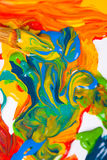 szczotki farby artysty Obraz Stock