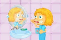 Szczotkować zęby Obraz Stock