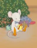 szczur świąteczne Zdjęcie Royalty Free