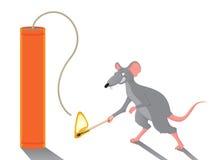 szczur royalty ilustracja
