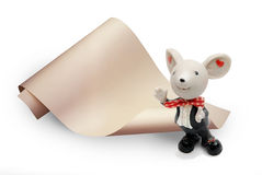 szczur zabawka Zdjęcia Royalty Free