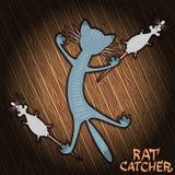 Szczura łapacz Fotografia Stock