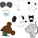 Szczury Royalty Ilustracja