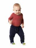 Szczwana chłopiec iść naprzód Obraz Stock