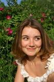 szczwana dziewczynka zdjęcie stock