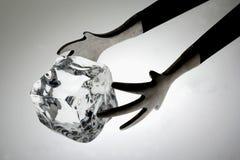 szczypce kostek lodu zdjęcia royalty free