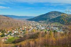 Szczyrk Town in Polish Mountains. stock photos