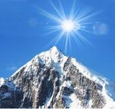 szczyt Zdjęcie Stock