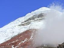 Szczyt Cotopaxi wulkan obrazy stock