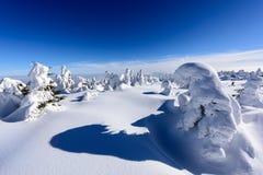 Szczyt góra Zdjęcia Royalty Free