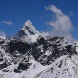Szczyt góra Ama Dablam Zdjęcia Royalty Free
