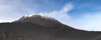 Szczyt Góra Etna Obrazy Stock
