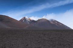 Szczyt góra Etna Obraz Royalty Free