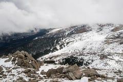 Szczyt góra Evans, Kolorado - Zdjęcia Royalty Free