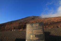 SZCZYT góra FUJI W JAPONIA Zdjęcie Royalty Free