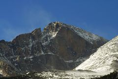 szczyt górski Obrazy Stock