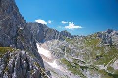 szczyt górski Obraz Royalty Free