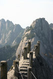 Szczyt górski schodki Obraz Royalty Free